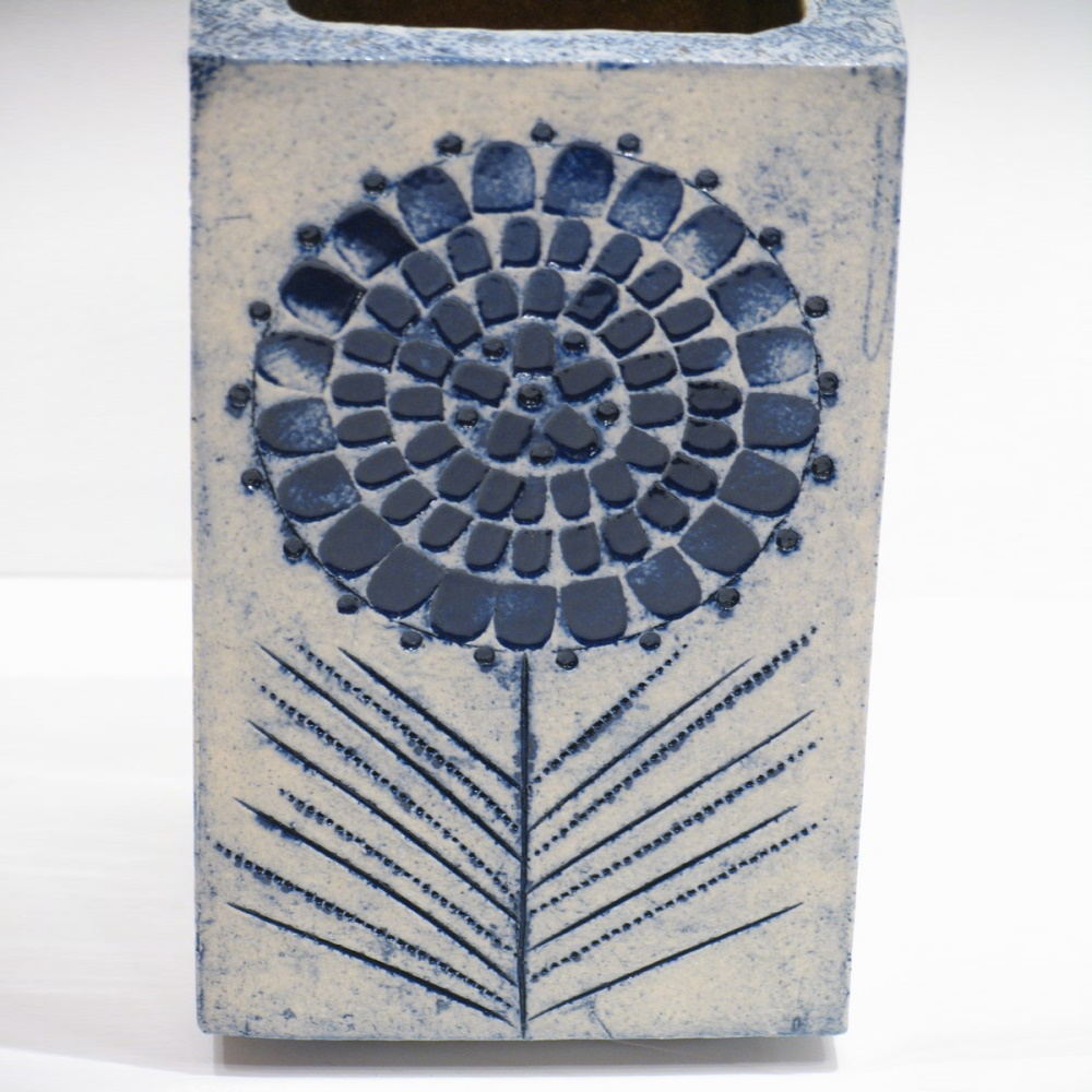 Vintage Terra Cotta Vase By Roger Capron Detail3