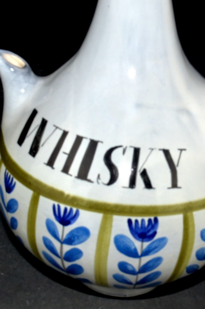 Ceramic Decanter 'whisky' By Roger Capron 5