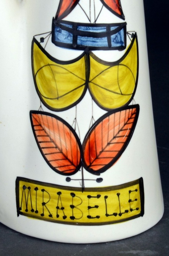 Ceramic Flask Mirabelle' By Roger Capron 8