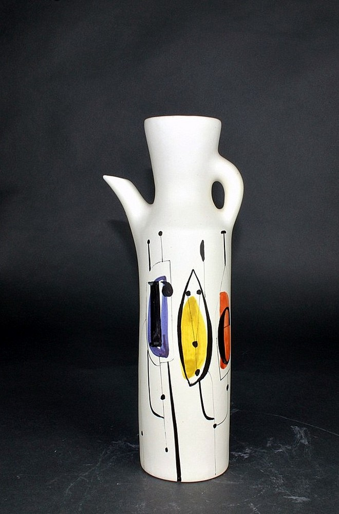 Ceramic Flask Roe' By Roger Capron 1