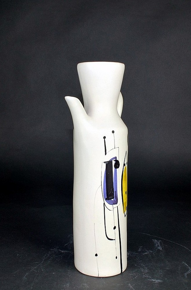 Ceramic Flask Roe' By Roger Capron 2