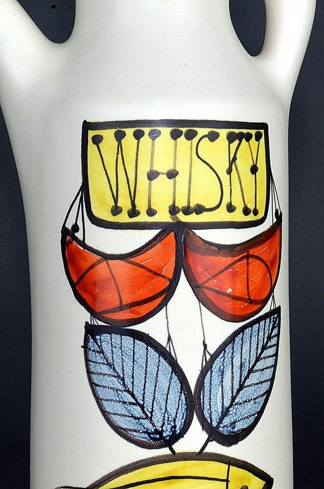 Ceramic Flask 'whisky' By Roger Capron 4
