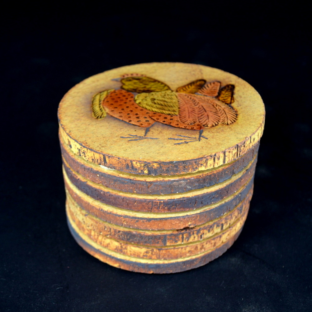 Ceramic Hen Coasters By Roger Capron (15)