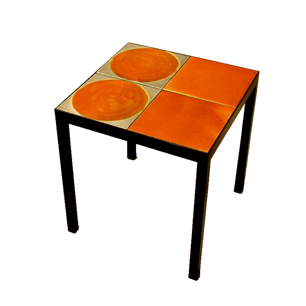 Coffee Table With Roger Capron Tiles 5