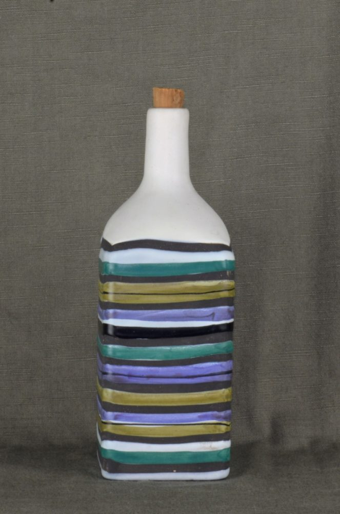 Decorative Ceramic Bottle 'rye' By Roger Capron 22
