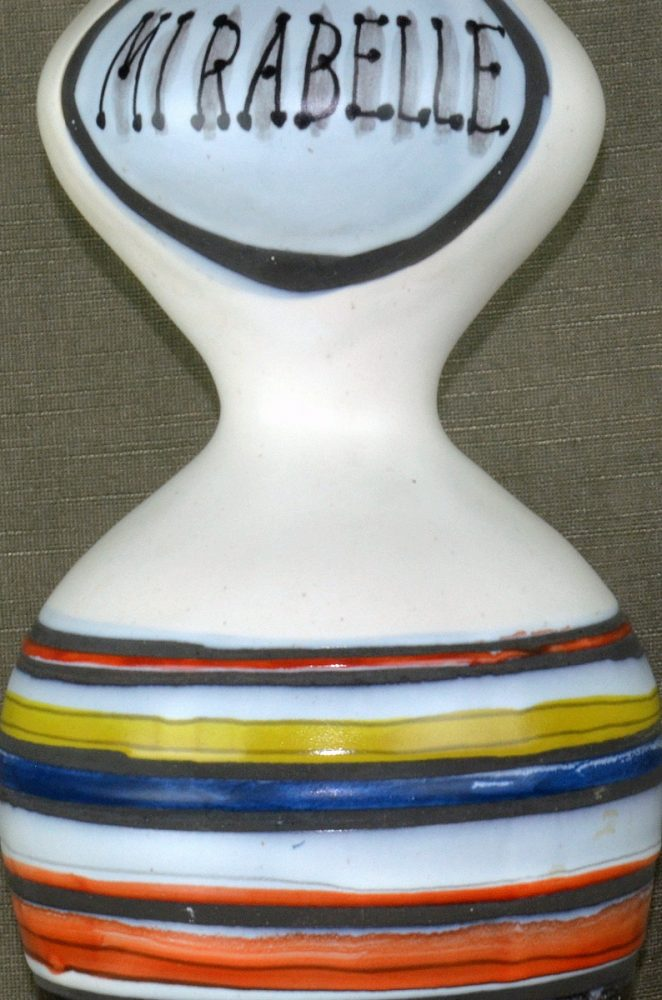Decorative Ceramic Carafe 'mirabelle' By Roger Capron 24