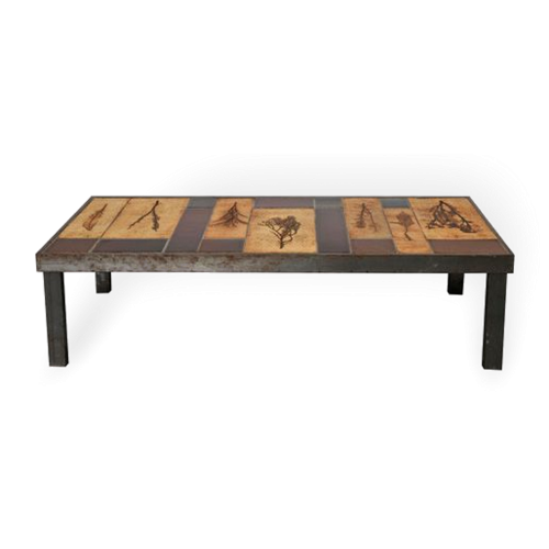Rectangular Garrigue Coffee Table By Roger Capron