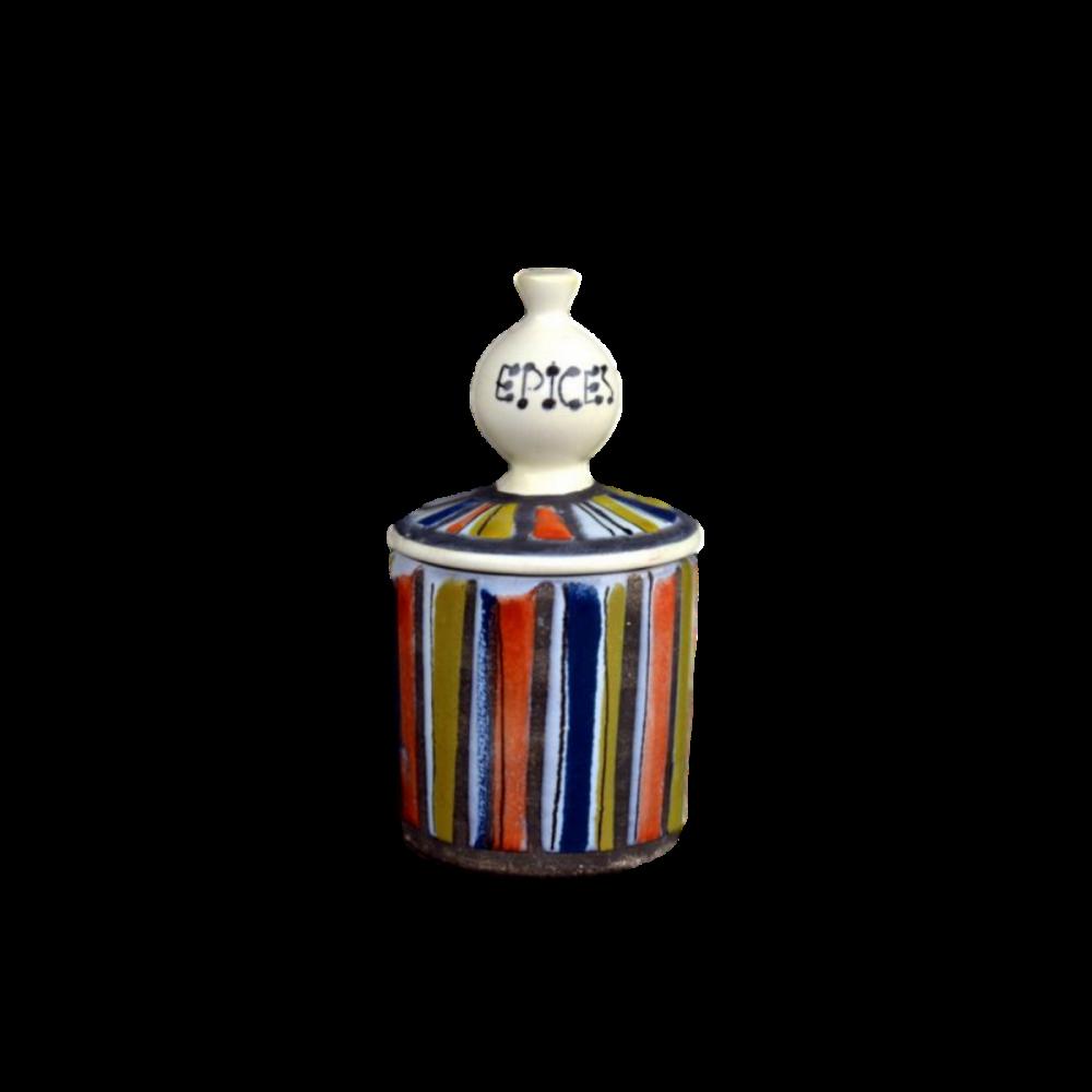 Vallauris France spice jars