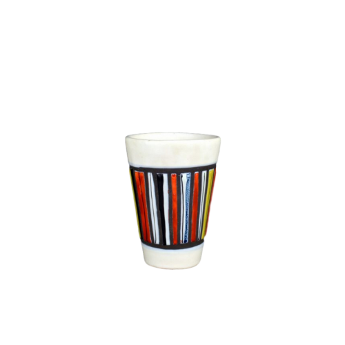 Roger Capron Ceramic Cup With Stripes