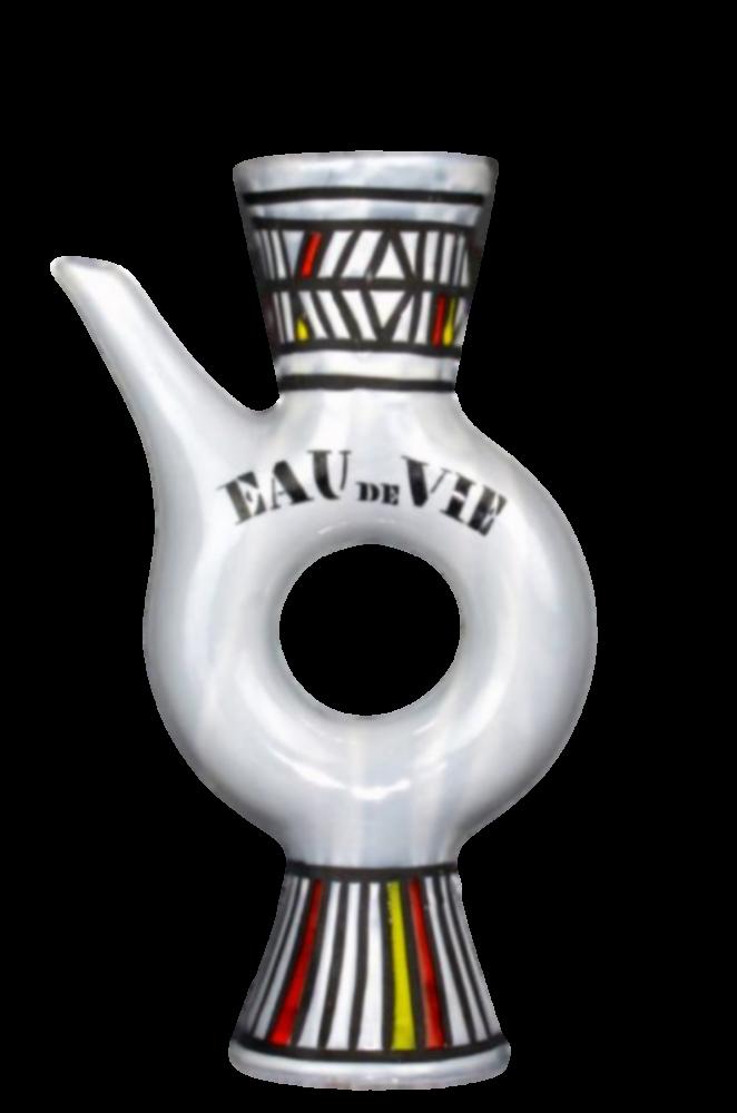 Roger Capron Ceramic Flask Eau De Vie