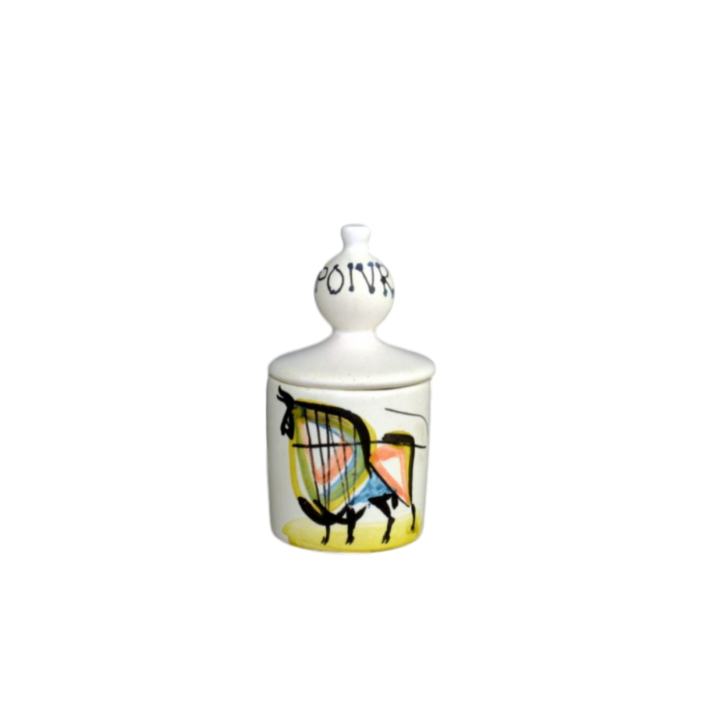 Roger Capron Ceramic Pepper Jar