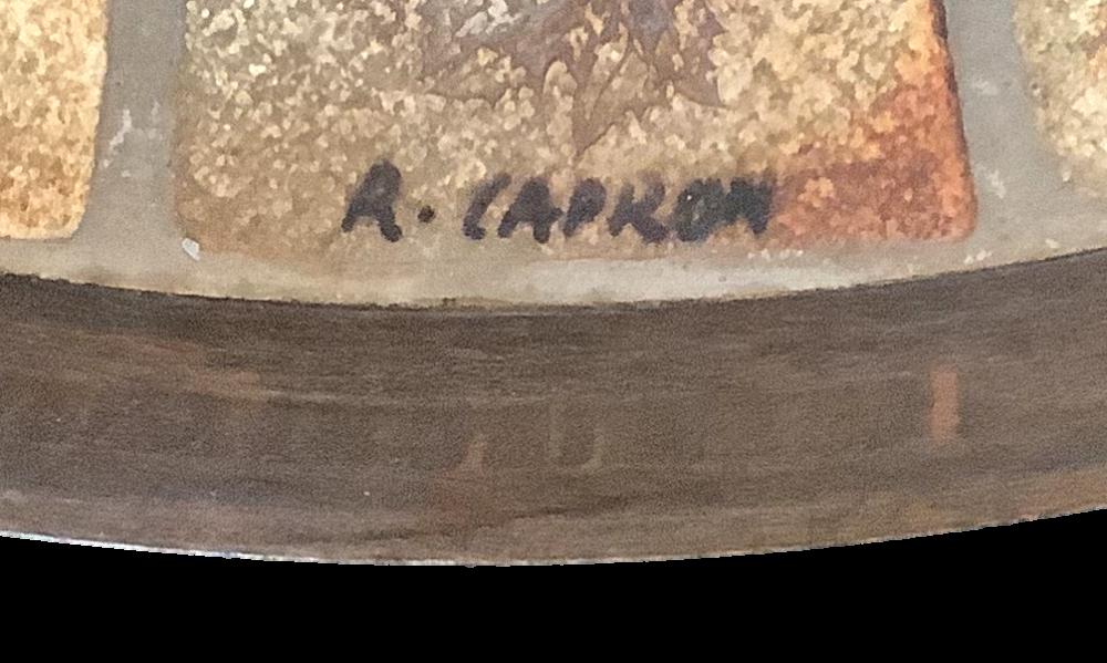 Roger Capron Coffee Table Signature