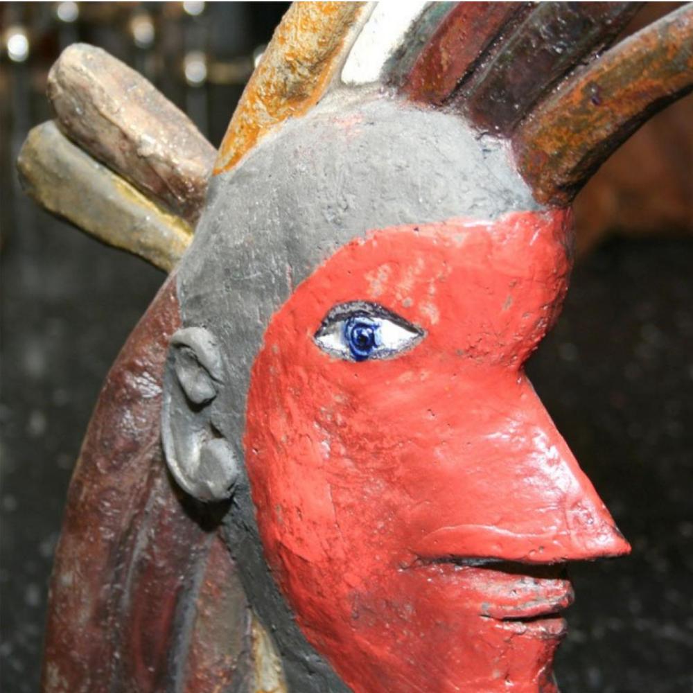 Roger Capron Sculpture Indien 3