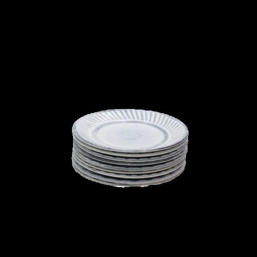 Roger Capron Set Of 9 Small Plates