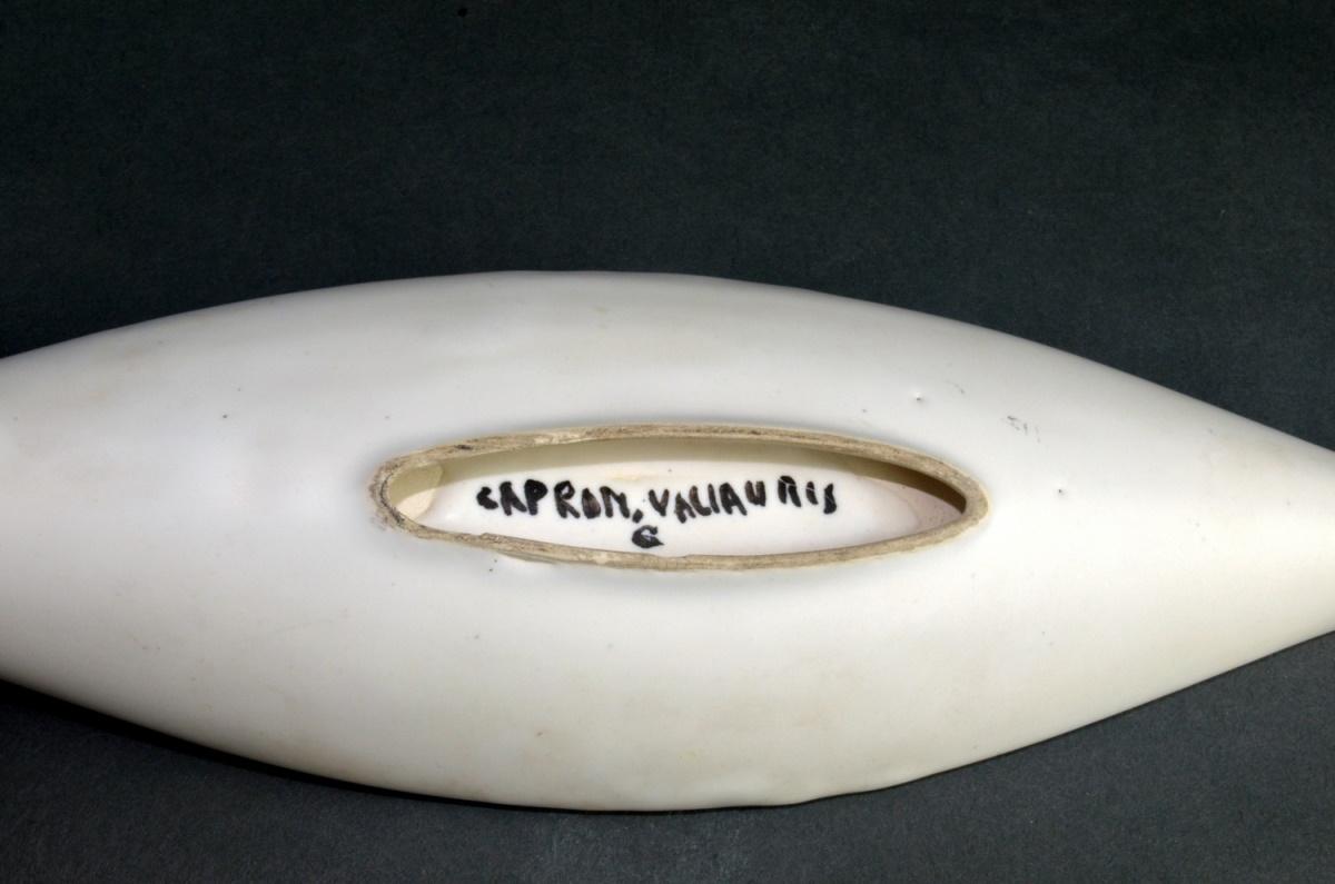Small Ceramic Canoe Dish With Coblestone By Roger Capron 27