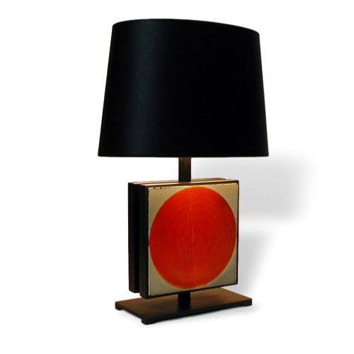 Table Lamp With Roger Capron Tiles 9