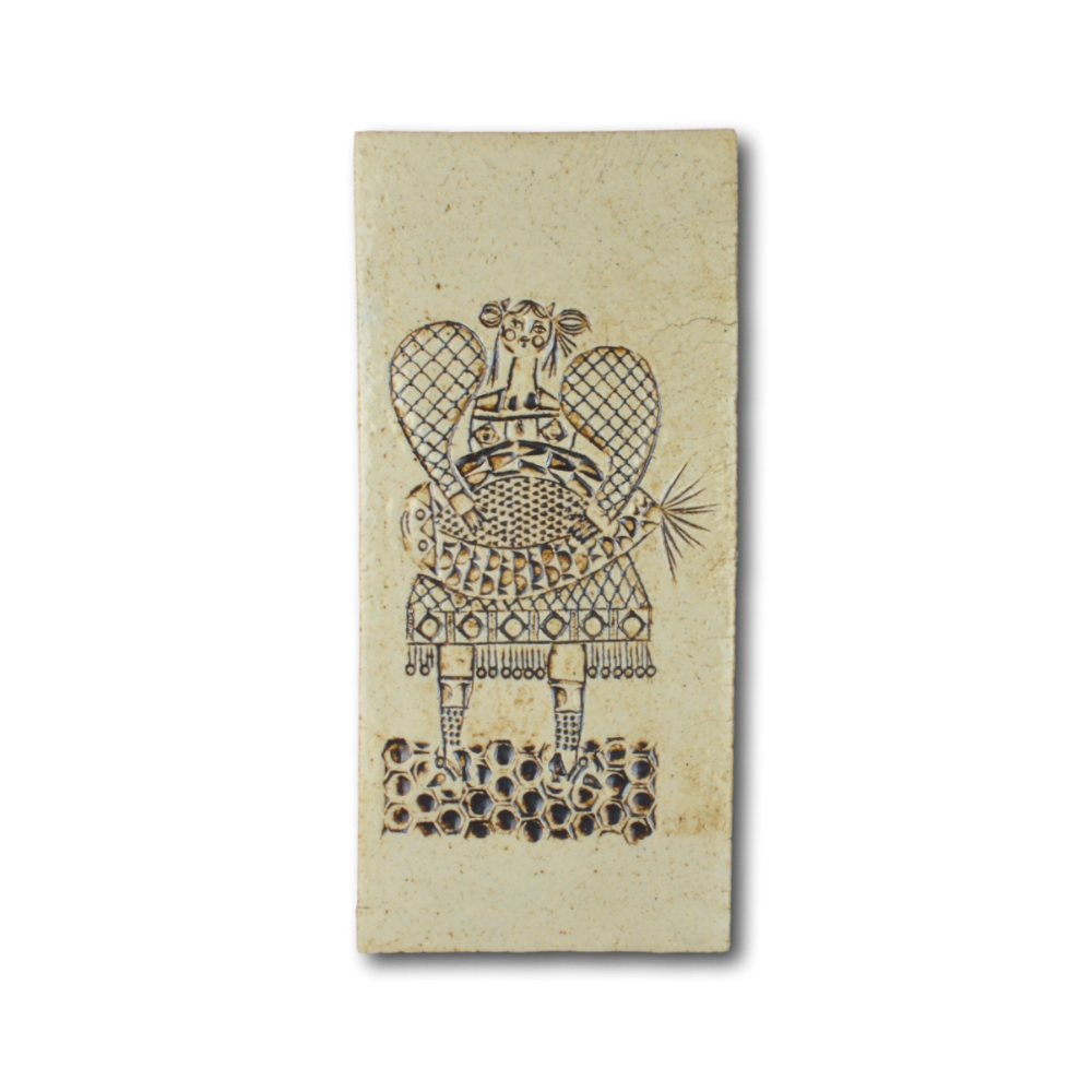 Terra Cotta Wall Decoration By Roger Capron