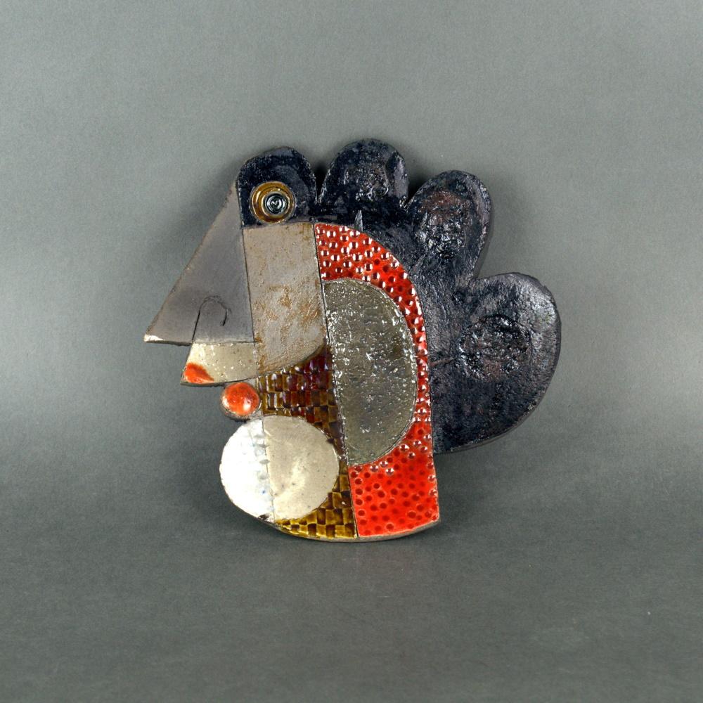 Tetes1 Sculpture By Roger Capron